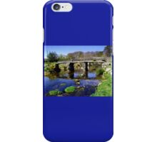 Bridge on Dartmoor iPhone Case/Skin