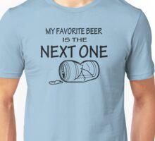 MY FAVORITE BEER  Unisex T-Shirt