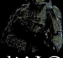 Halo - John 117 by AvatarSkyBison