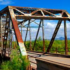 Gillespie Bridge over Gila RIver by Kathy Gonzales