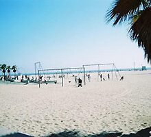 Santa Monica Beach by magins