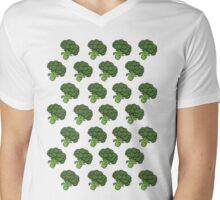 Badass Broccoli's Mens V-Neck T-Shirt