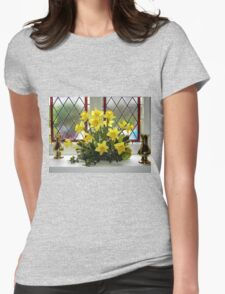 Easter Window Womens Fitted T-Shirt