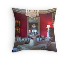 Inside Downton Abbey Throw Pillow