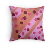 Floating in Pink Throw Pillow