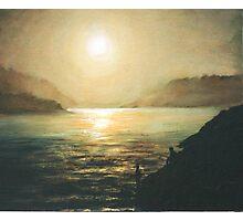 The Midnight Sun Photographic Print