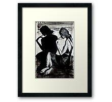Film Noir Framed Print