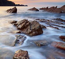 Combe Martin, Devon by Ian Flindt