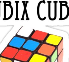 I swap stickers on Rubix Cubes Sticker