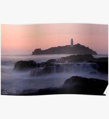 Godrevy Sunset Poster