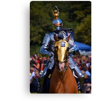 Knight in Armour Canvas Print