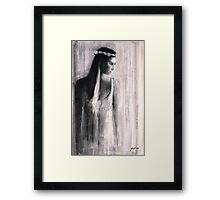 In The Quietest Moment Framed Print