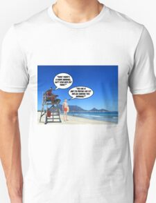 Shark Warning! T-Shirt