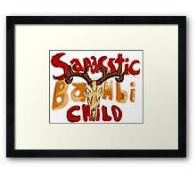 Sarcastic Bambi Child Framed Print
