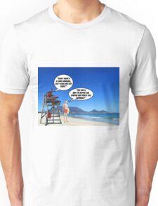 Shark Warning 2 Unisex T-Shirt