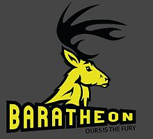 Baratheon - Ours is the fury by Leopard