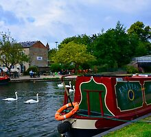 Enijay on the Kennet & Avon Canal by DTphotography Dave & Tatiana