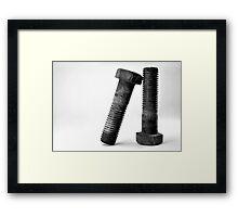 Support Framed Print