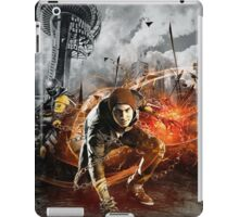 Infamous Second Son - Delsin in the Street iPad Case/Skin