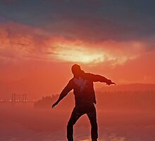 Infamous Second Son - Delsin Panorama by TylerMellark