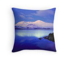 Blackmount Snow Throw Pillow