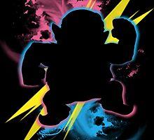 Super Smash Bros. Wario (Biker) Silhouette by jewlecho