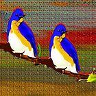 Blue Birds Of Paradise by Mike Pesseackey (crimsontideguy)