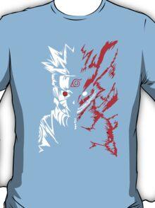 Naruto Shippuden 9 Tail Demon Fox Kyuubi Anime Cosplay T Shirt T-Shirt