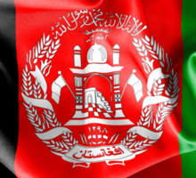 Afghanistan Flag Sticker