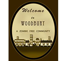 The Walking Dead - Welcome to Woodbury Photographic Print