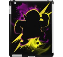 Super Smash Bros. Wario (Classic) Silhouette iPad Case/Skin