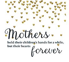 Mothers hold their Children's Hands Photographic Print