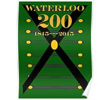 Waterloo 200th Anniversary  Rifles Poster
