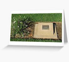 Adelaide River War Memorial Greeting Card