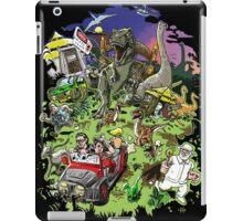 Jurassic Park - All Characters Design iPad Case/Skin