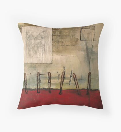 snag (property line) Throw Pillow