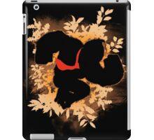 Super Smash Bros. Donkey Kong Silhouette iPad Case/Skin