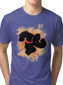 Super Smash Bros. Donkey Kong Silhouette Tri-blend T-Shirt