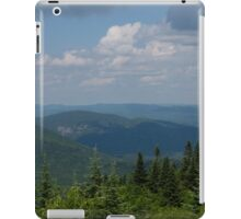 Just Climb the Mountain and Breathe Deeply iPad Case/Skin