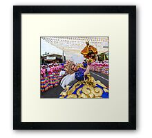 Sinulog Queen_1 Framed Print