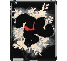 Super Smash Bros. White Donkey Kong Silhouette iPad Case/Skin