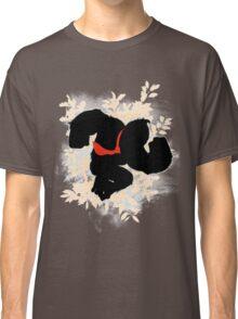 Super Smash Bros. White Donkey Kong Silhouette Classic T-Shirt