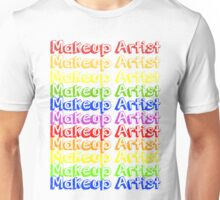 MUA Repeat - Rainbow Unisex T-Shirt