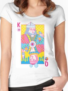 King of Nothing, Queen of Nowhere Women's Fitted Scoop T-Shirt