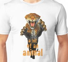 Leaping Leopard - a bit of an animal Unisex T-Shirt