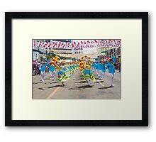 img_5219 Sinulog Dancers Framed Print