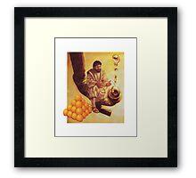 M Blackwell - RISE DAMN YOU, RISE! Framed Print