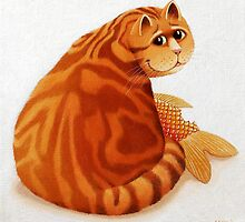Koi Cat by vickymount