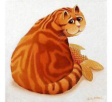 Koi Cat Photographic Print