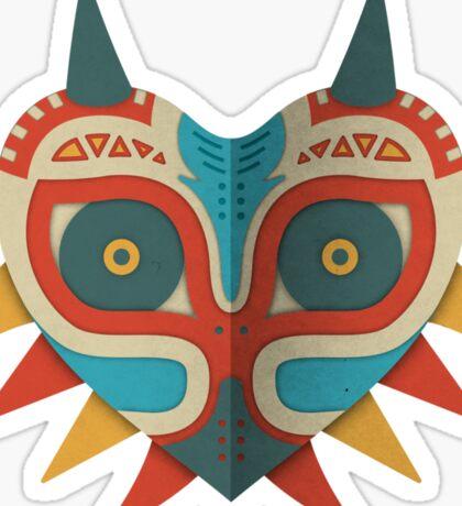 A Legendary Mask Sticker